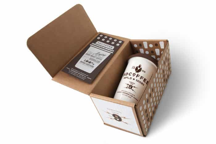 packaging original café