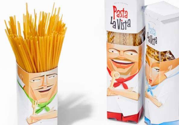 packaging original Pasta La Vista